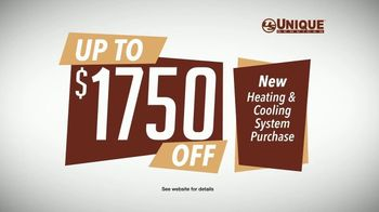 Unique Services TV Spot, 'Fall Buy Back Time: Up to $1750 Off + Free Nest Thermostat' - Thumbnail 4