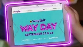 Wayfair Way Day TV Spot, '2020 Preview: Furniture, Rugs and Appliances'