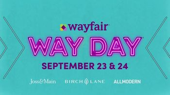 Wayfair Way Day TV Spot, '2020 Preview: Furniture, Rugs and Appliances' - Thumbnail 8