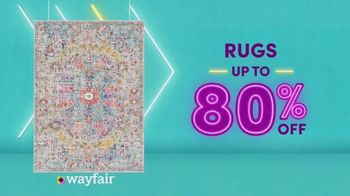 Wayfair Way Day TV Spot, '2020 Preview: Furniture, Rugs and Appliances' - Thumbnail 5