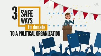 AARP Services, Inc. TV Spot, 'Fraud Watch: Three Safe Ways to Donate' - Thumbnail 2