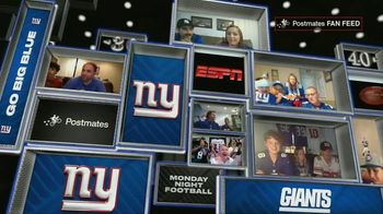 Postmates TV Spot, 'MNF: Fan Feeds' - Thumbnail 2