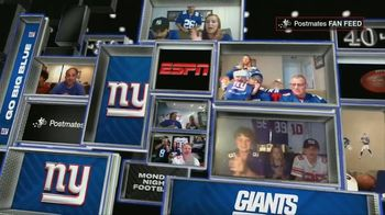 Postmates TV Spot, 'MNF: Fan Feeds' - Thumbnail 6