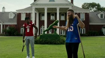 Nissan TV Spot, 'It's Heisman Time' Feat. Lamar Jackson, Tim Tebow, Kyler Murray, Song by Loverboy [T1] - 100 commercial airings