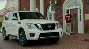 Nissan TV Spot, 'It's Heisman Time' Feat. Lamar Jackson, Tim Tebow, Kyler Murray, Song by Loverboy [T1] - Thumbnail 9