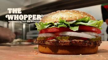 Burger King Whopper TV Spot, 'Real Whopper: Free Delivery' - Thumbnail 9