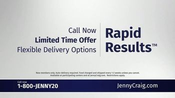 Jenny Craig TV Spot, 'Sarah: Rapid Results' - Thumbnail 10