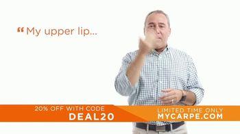Carpe TV Spot, 'Life Changing: 20% Off' - Thumbnail 3