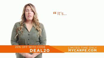 Carpe TV Spot, 'Life Changing: 20% Off' - Thumbnail 4
