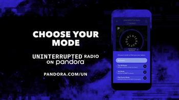Pandora UNINTERRUPTED Radio TV Spot, 'Tip-Off Mode' Song by 2 Chainz - Thumbnail 9