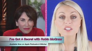 I've Got A Secret! With Robin McGraw TV Spot, 'The Secret to Mental Resilience with Evy Poumpouras!' - Thumbnail 4