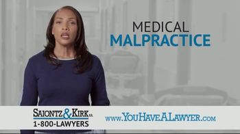 Saiontz & Kirk, P.A. TV Spot, 'Medical Malpractice' - Thumbnail 1