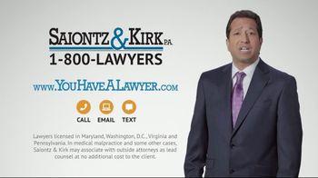 Saiontz & Kirk, P.A. TV Spot, 'Medical Malpractice' - Thumbnail 10