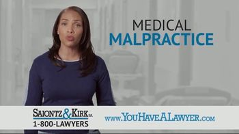 Saiontz & Kirk, P.A. TV Spot, 'Medical Malpractice' - Thumbnail 2