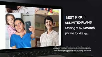 AT&T Wireless TV Spot, 'The Stellar Awards: Essential Workers' - Thumbnail 9