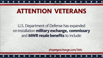 The Exchange TV Spot, \'Disabled Veterans and Purple Heart Recipients\'