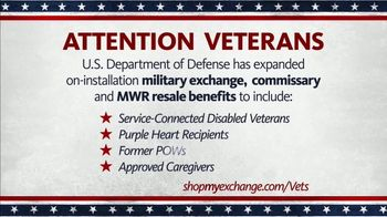 The Exchange TV Spot, 'Disabled Veterans and Purple Heart Recipients' - Thumbnail 2