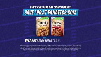 Cheerios Oat Crunch TV Spot, 'Introduction: Tailgate Nation' - Thumbnail 6