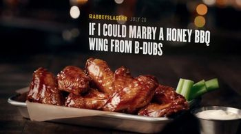 Buffalo Wild Wings TV Spot, 'Marry a Honey BBQ Wing'