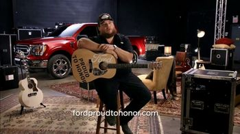 Ford Proud to Honor TV Spot, 'Guitars for Vets' Featuring Luke Combs [T1] - Thumbnail 7