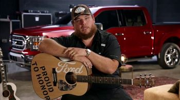 Ford Proud to Honor TV Spot, 'Guitars for Vets' Featuring Luke Combs [T1] - Thumbnail 6