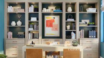 California Closets TV Spot, 'Best Work From Home' - Thumbnail 4