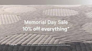 Casper Memorial Day Sale TV Spot, 'Enjoy Ten Percent off Everything' - Thumbnail 3