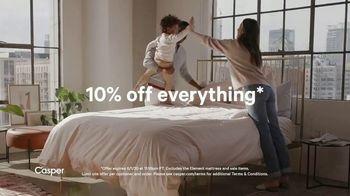 Casper Memorial Day Sale TV Spot, 'Enjoy Ten Percent off Everything' - Thumbnail 9