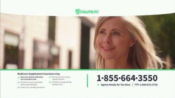 Ensurem TV Spot, 'Medicare Supplement Insurance'