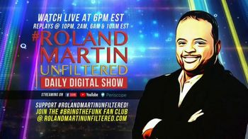 Roland Martin Unfiltered TV Spot, 'The Scoop' - Thumbnail 9