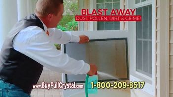 Full Crystal TV Spot, 'Cleans Windows, Screens & Glass at the Same Time'