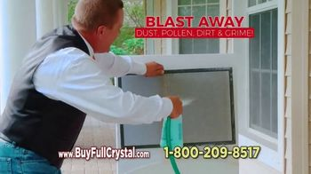 Full Crystal TV Spot, 'Cleans Windows, Screens & Glass at the Same Time' - Thumbnail 3
