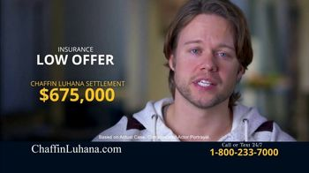 Chaffin Luhana TV Spot, 'Insurance Low Offers'