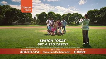Consumer Cellular TV Spot, 'Baseball: Spring Into Savings' - Thumbnail 10