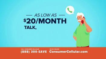 Consumer Cellular TV Spot, 'Better Value: Spring Into Savings' - Thumbnail 3