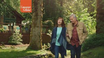 Consumer Cellular TV Spot, 'Cabin: Spring Into Savings' - Thumbnail 8