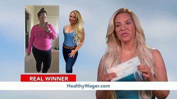 HealthyWage TV Spot, 'Average Winners: Calculator'