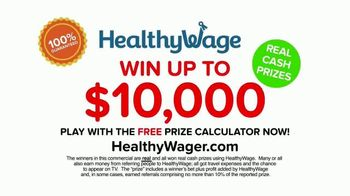 HealthyWage TV Spot, 'Average Winners: Calculator' - Thumbnail 10