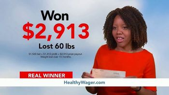 HealthyWage TV Spot, 'Average Winners: Calculator' - Thumbnail 2