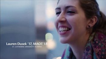St. Catherine University TV Spot, 'Powering Lives of Meaning: Lauren'