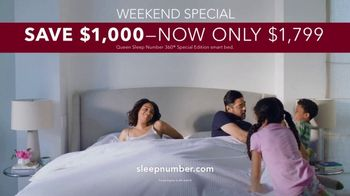 Sleep Number Memorial Day Sale TV Spot, 'Adjustable Settings: Delivery & Setup' - Thumbnail 9