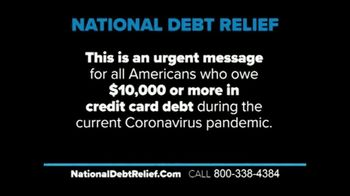 National Debt Relief Debt Reset Program TV Spot, 'Special Announcement: COVID-19' - Thumbnail 1