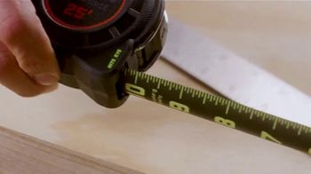 Crescent Lufkin Shockforce Tape Measure TV Spot, 'Backyard Ready: Premium Products' - Thumbnail 4