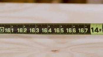 Crescent Lufkin Shockforce Tape Measure TV Spot, 'Backyard Ready: Premium Products' - Thumbnail 5