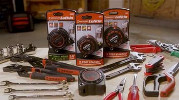 Crescent Lufkin Shockforce Tape Measure TV Spot, 'Backyard Ready: Premium Products' - Thumbnail 7