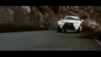 2020 Lexus IS TV Spot, 'Legacy in the Making' [T2] - Thumbnail 3