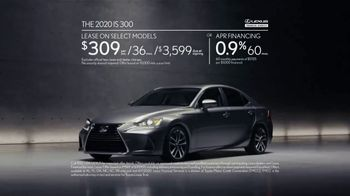 2020 Lexus IS TV Spot, 'Legacy in the Making' [T2] - Thumbnail 6