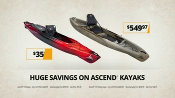 Bass Pro Shops Go Outdoors Sale TV Spot, 'Eclipse Tent and Kayaks' - Thumbnail 8