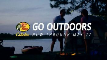 Bass Pro Shops Go Outdoors Sale TV Spot, 'Eclipse Tent and Kayaks' - Thumbnail 5