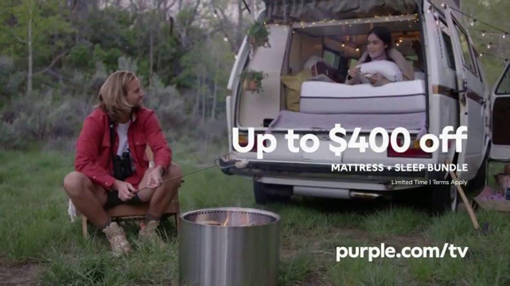 Purple Mattress Memorial Day Sale Tv Commercial Mattress And Sleep Bundle Ispot Tv